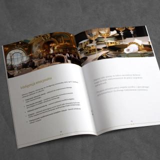 Folder reklamowy dla ELEGMEN - zdjęcie wnętrza
