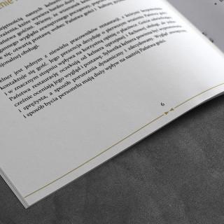 Folder reklamowy dla ELEGMEN - detal