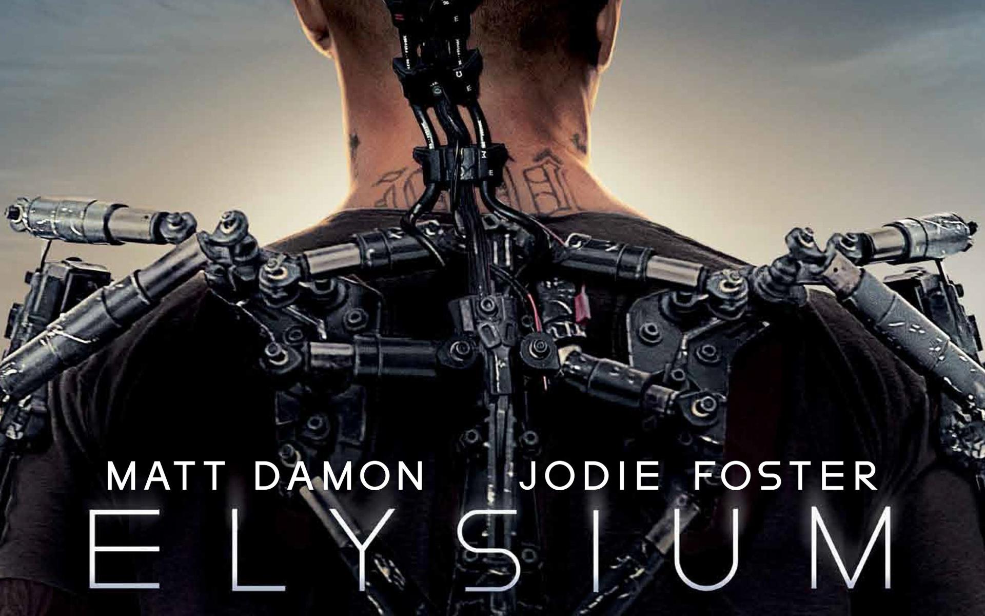 Elysium - fragment plakatu