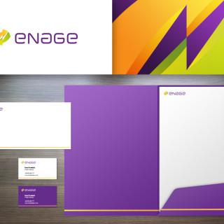 Logo i materiały dla Enage