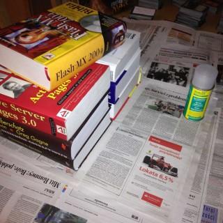 Te wszystkie ksiażki wreszcie do czegoś się przydały ;)