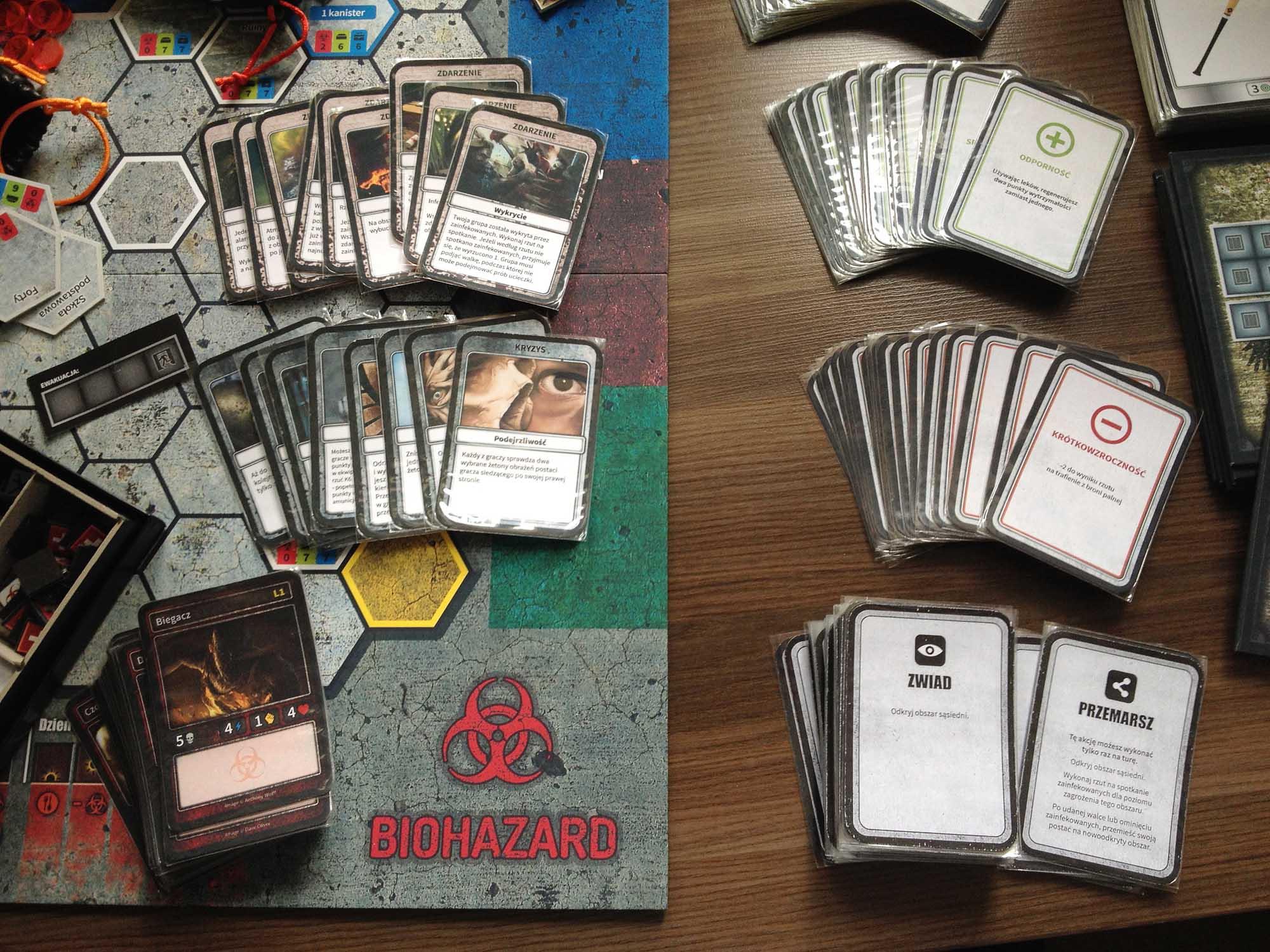 Różne rodzaje kart
